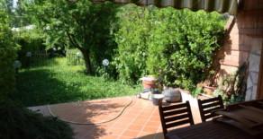 Trigoria appartamento con giardino